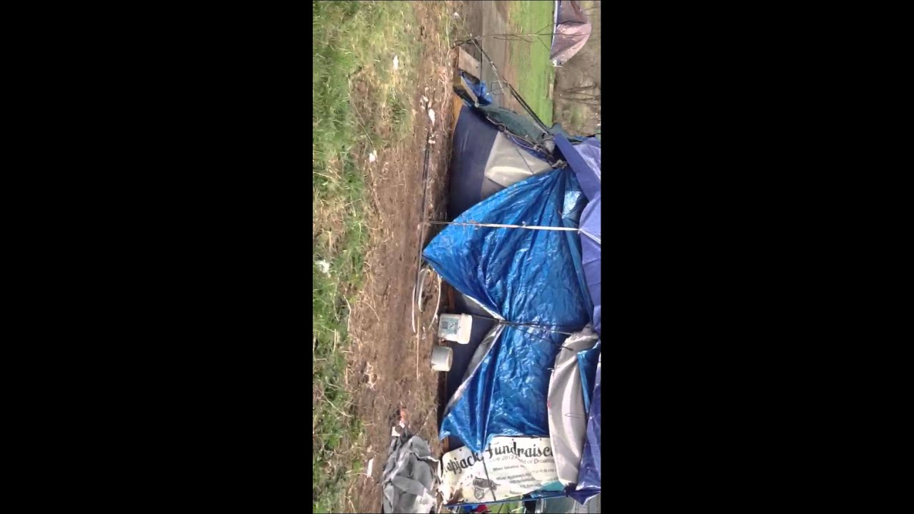Tent city Wooster, Ohio - YouTube