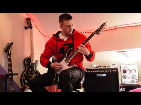 Chimaira SIX (cover) - with Rob Arnold signature LTD RA-600 guitar, recorded on Olympus LS-20m