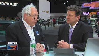 Paul W Smith at the Auto Show
