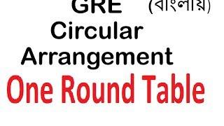 Counting|| Permutation AND Combination || Part 26 || Circular Arrangement (1) || বিন্যাস ও সমাবেশ