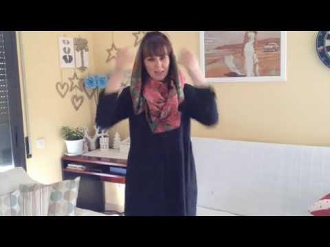 Как сделать из шарфа капюшон легко и просто