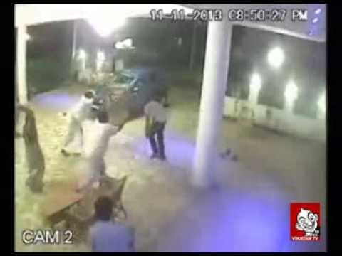 Madurai Melur Murder Attempt On Admk Person | Shocking Cctv Footage video