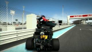 F1 2012 crashes compilation - 50 smashes in F1 2012