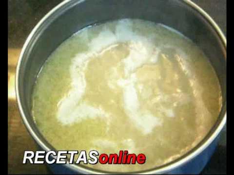 Sopa de fideos - Receta de cocina RECETASonline