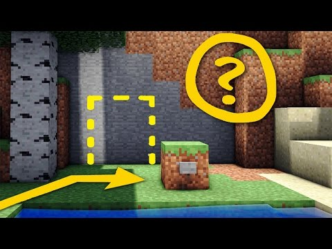 Minecraft: Secret Door / Base Tutorial - How to Build a Hidden Redstone House