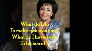 Watch Shirley Bassey Sorry Seems To Be The Hardest Word video