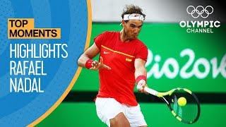 Rafael Nadal's Top Olympic Highlights | Top Moments