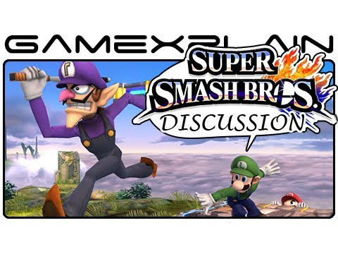 Super Smash Bros Update: Waluigi, Finishing Moves, Dedenne, & Boxing Ring - Discussion (Wii U & 3DS)