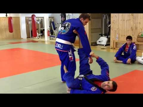 Jiu Jitsu Techniques - Triangle From De La Riva Image 1
