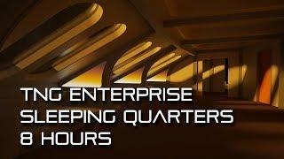 Star Trek TNG Sleeping Quarters *8 HOURS* (calming, for sleep)