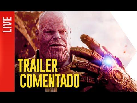 Vingadores. Guerra Infinita. Trailer Comentado   OmeleTV AO VIVO