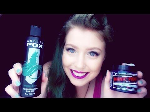 Arctic Fox Hair Color vs. Manic Panic Hair Dye Review