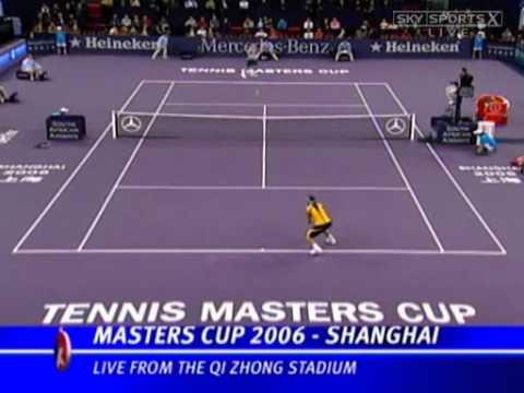 Roger Federer vs Rafael Nadal -- Shanghai TMC 2006 Highlights
