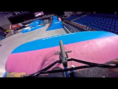 GoPro BMX Bike Riding the Simple Session Course!