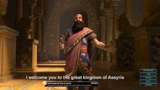 Civilization 5 All Leaders (English Sub) part 1
