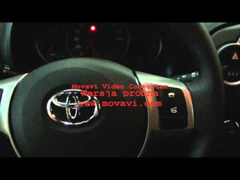 Toyota Yaris 2012 czynności kontrolno - obsługowe. egzamin państwowy. 002
