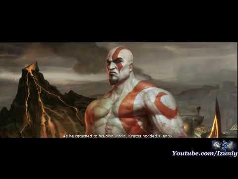 ▶ Mortal Kombat 9 Kratos Story Ending [HD]