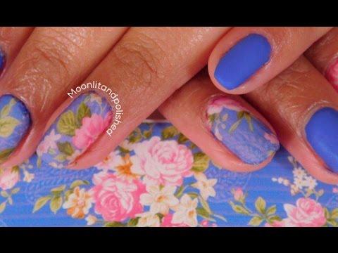 DIY nail decal tutorial💅🏽