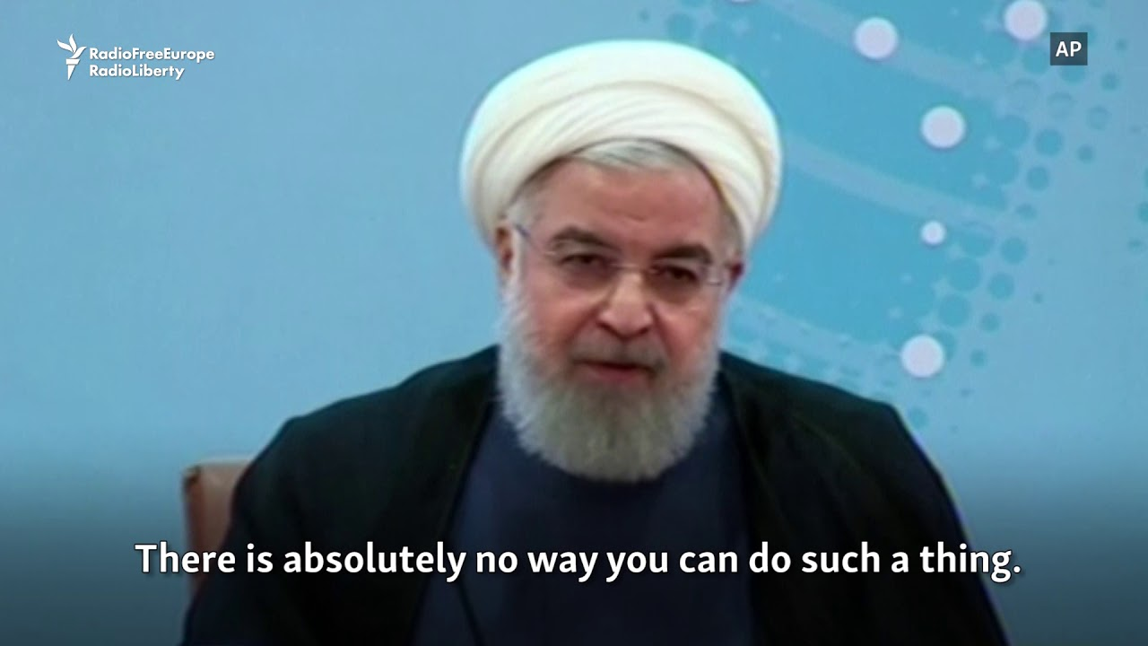 Iranian President Warns Trump Not To 'Play With The Lion's Tail'
