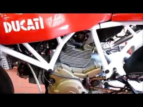"""Ducati Sport Classic 1000 """"Cappuccino Corse"""" 92 Hp 220 Km/h * see Playlist"""