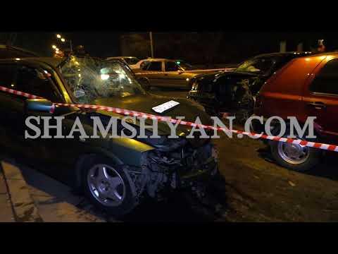 Ավտովթար Երևանում. Mercedes-ը դուրս է եկել հանդիպակաց գոտի և բախվել Opel-ին ու Volkswagen-ին