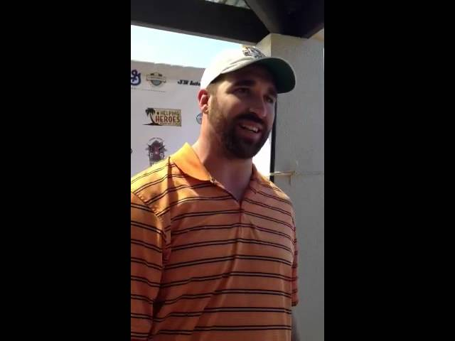 Video Jared Allen helps wounded warriors