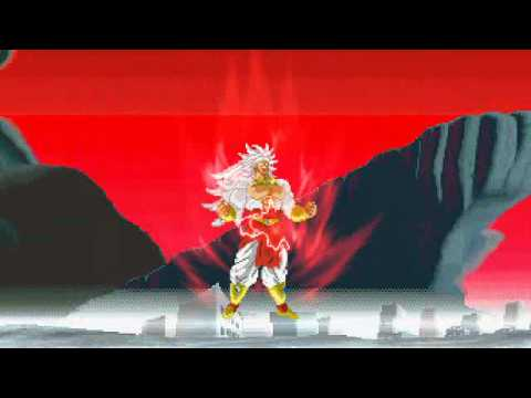 DBZ - Broly Transformation Super Saiyan...