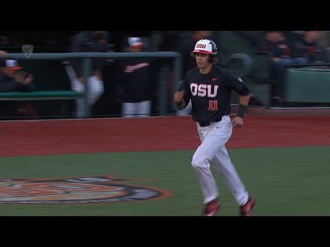 Recap: Top-ranked Oregon State baseball's offense downs California, 8-0