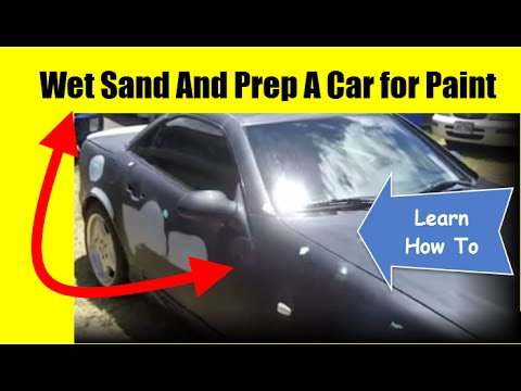 how to wet sand prep a car for paint youtube. Black Bedroom Furniture Sets. Home Design Ideas
