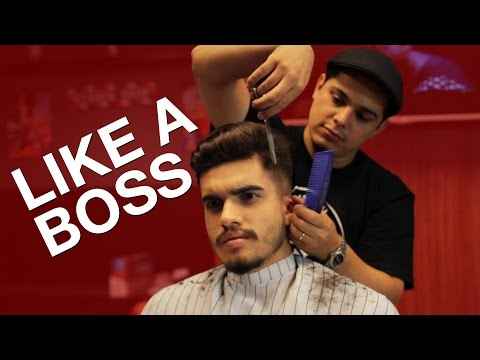 Cortando O Cabelo Like A Boss - Barbearia Confraria video