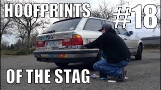 BUMPER STICKERS! THE STAGERMOBILE!! (Hoofprints of the Stag #18)