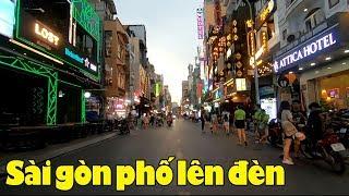 Sài Gòn phố lên đèn ra sao? Người xa xứ coi sao nhớ Sài gòn quá!