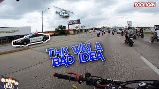 175 Bikers Get Shut Down by Police (CRAZY)