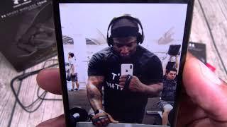 Under Armor Sport Wireless Headphones - Project Rock Edition