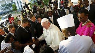Papa Francis Afrika Turunun Ikinci Ayağına Başladı