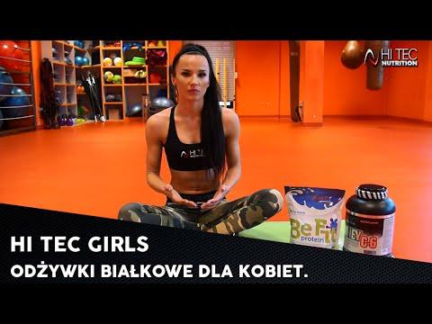 HI TEC GIRLS - Odżywki Białkowe Dla Kobiet