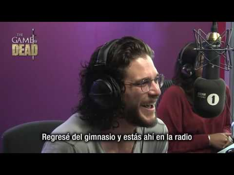 Kit Harington recibe llamada de Maisie Williams en Vivo (Subtitulado)