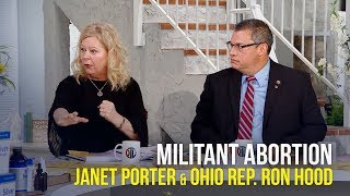 Militant Abortion - Janet Porter and Ron Hood on The Jim Bakker Show