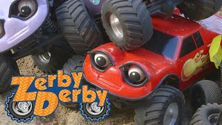 Zerby Derby | SPINNING CARS | Compilation | Full episodes | Kids Cars