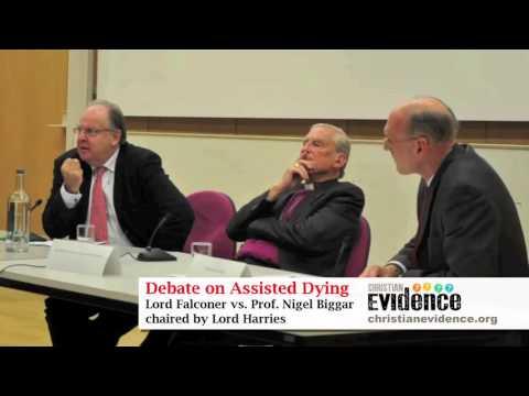 Assisted Dying Debate: Lord Falconer, Prof Biggar, Lord Harries (full audio)