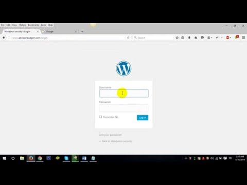 How to Rename/Hide wp-admin & wp-login.php page | Part -1 #1