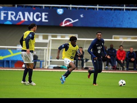Victoire des Bleus face aux U19 du Paris FC