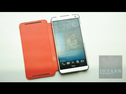 HTC One Max Power Flip Case Hands On : 30%  Extra Battery Cover