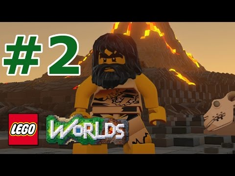 LEGO Worlds: Story Mode Walkthrough: Part 2 - Prehistoric Peril