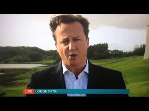 David Cameron ITV interview -
