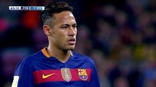 Neymar vs Sevilla (Home) 15-16 HD 1080i (28/02/2016) - English Commentary