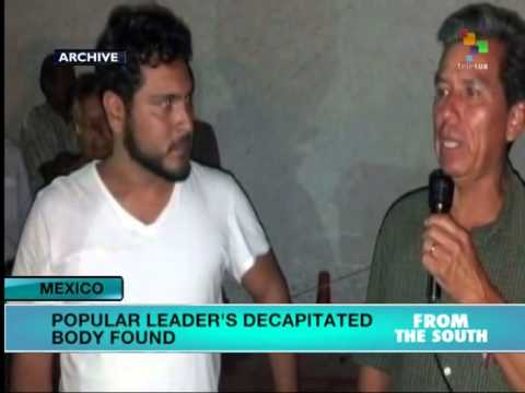 Mexico: activist's decapitated body found