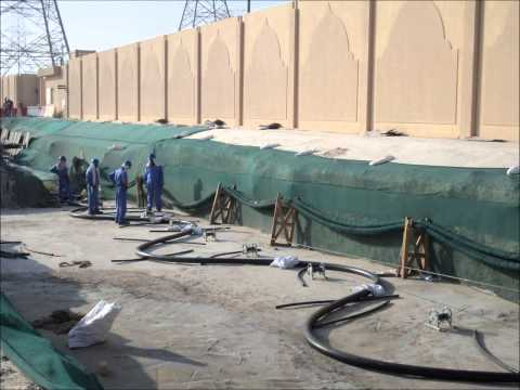 TCC QATAR - 132 Kv & 66 KV Cable Pulling From A to Z.wmv