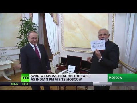 India to buy Russian S-400 & warships in $7bn deal