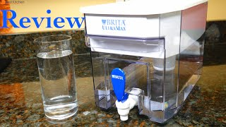 Brita Ultramax Water Filter Dispenser Review